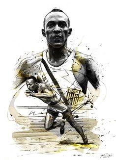 Las ilustraciones deportivas de Yann Dalon 4