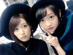 Takahashi Minami (高橋みなみ) & Kizaki Yuria (木﨑ゆりあ) - #Team 4 #AKB48 #japan #idol #Yuria #jpop #Twitter #selfie