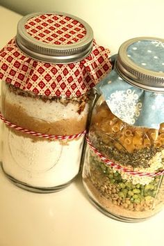 Gift idea - Friendship Soup and Blondinis in a jar