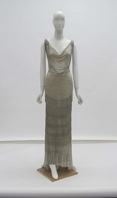 House of Worth   Evening dress   French   The Met 1931