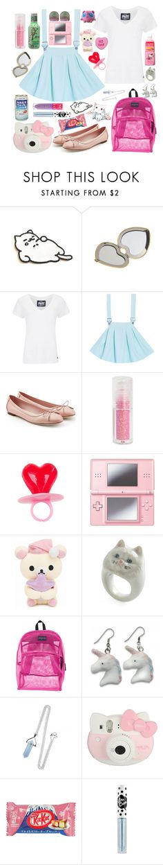 """""""Teddy Bear"""" by keeperofbooks ❤ liked on Polyvore featuring Tubbs, Aerie, Superdry, Salvatore Ferragamo, Hot Topic, Nintendo, INC International Concepts, JanSport, Hello Kitty and Jeffree Star"""