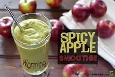 Warming Spicy Apple Halloween Smoothie