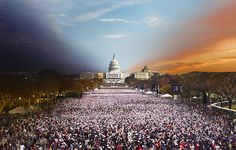 Day to night - Presidential Inauguration 2013