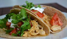 Green Chile Salsa Chicken Tacos by Kristin H., The Fresh Find #HEBMeals