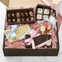 Easter bunny easter gifts easter hampers bockers and pony easter candy chocolate gift set williamssonoma negle Image collections