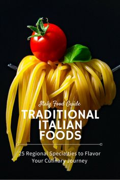 Traditional Italian food, 25 must-try regional foods of Italy that'll flavor your culinary tour. Italian Dishes, Italian Recipes, Italian Foods, Italian Lunch, Famous Italian Food, Bologna Food, Italy Food, Best Street Food, Mouth Watering Food