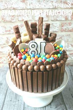 12 Best Chocolate Explosion Cake Images Cake Cupcake