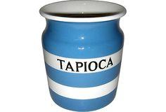 Cornishware Tapioca Canister