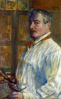 Frederick Childe Hassam | Self-Portrait by Frederick Childe Hassam