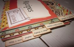 Recipe Book Retro Country Style by BagLadyLulu on Etsy, $55.00