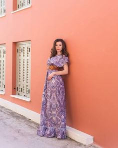 "125 ""Μου αρέσει!"", 2 σχόλια - @annabelle_moda στο Instagram: ""Long maxi bohemian style summer dress"""