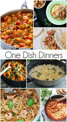 one dish dinners