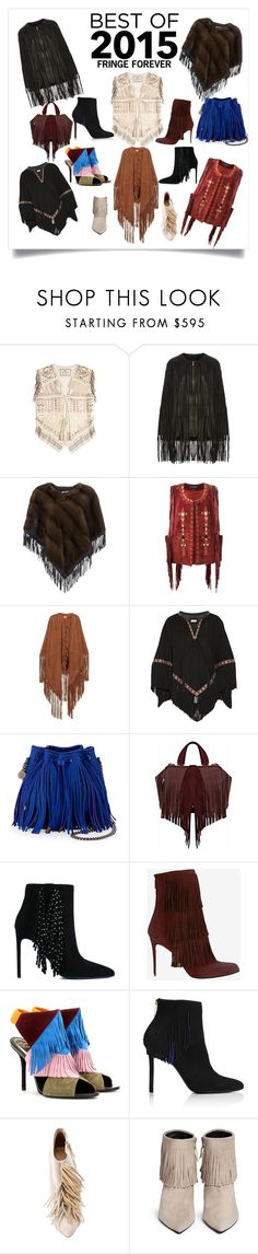 """""""Best of Everything: Fringe Forever"""" by shoecraycray ❤ liked on Polyvore featuring Etro, Elie Saab, Yves Salomon, Isabel Marant, Talitha, STELLA McCARTNEY, The Volon, Yves Saint Laurent, Paul Andrew and Roger Vivier"""