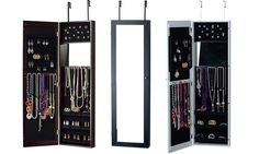 Nice  Over-the-Door or Wall-Hold Jewellery Armoire