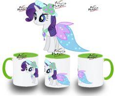 TAZA MY LITTLE PONY RARITY GALA varios colores mug tazza tasse coupe niño niña | eBay