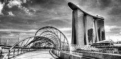 """""""Black and White Photography  City Singapore """" by William Yee Khai Teo, Singapore // Black and White Photography - City Singapore 2013 // Imagekind.com -- Buy stunning fine art prints, framed prints and canvas prints directly from independent working artists and photographers."""