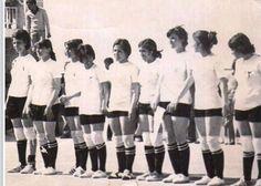 طالبات فريق كرة السلة جامعة بَغداد بداية السبعينات