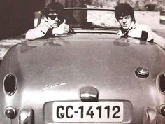 The Beatles in Tenerife in 1963.