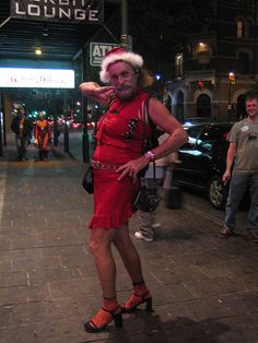 Leslie in Austin by mimmi, via Flickr.  Austin Texas' legendary street transvestite that recently passed on.   Leslie is missed.  We ran into Leslie many times on 6th street and he was a character. KEEP AUSTIN WEIRD!