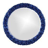 Howard Elliott Rosalie Royal Blue Mirror - 21146RB