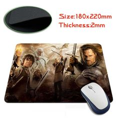 The Lord of The Rings Mouse Pad mm Radagast The Brown, An Unexpected Journey, Bilbo Baggins, My Precious, Lord Of The Rings, Tolkien, Lotr, The Hobbit, Free Shipping