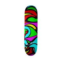 Skateboard-Abstract/Misc Art-Graffiti Gallery 13