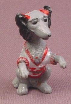 Topps dog figure 1997