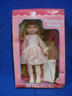 My Friend Mandy Doll  Fisher Price Doll...this is the doll I'm getting off Ebay for Layla. I got her in 1977 and can't wait for Layla to play with her.