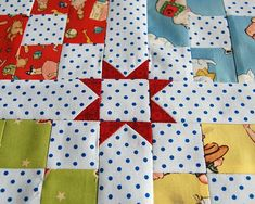 As you know, we have been working on our Little Playmates Quilt. We showed you the individual blocks last time, and today we're going to show you a fun little trick with the sashing. Quilting Tutorials, Quilting Projects, Quilting Designs, Sewing Tutorials, Quilting Tips, Sewing Tips, Modern Quilt Patterns, Quilt Block Patterns, Quilt Blocks