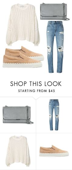 """""""Untitled #4018"""" by evalentina92 ❤ liked on Polyvore featuring STELLA McCARTNEY, Alexander Wang, MANGO and Chloé"""