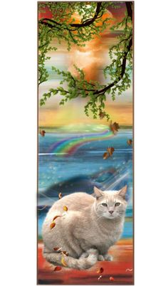 """""""3666 - cat tales bookmark"""" by suburbhater ❤ liked on Polyvore"""