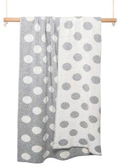 luna ninos cotton spot blanket