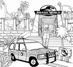 jurassic world evolution coloring pages. After the Jurassic World theme park was closed three years ago, Owen Grady lived a normal life and drove around in his van. Owen's life is far from th. Transformers Coloring Pages, Lego Coloring Pages, Dinosaur Coloring Pages, Preschool Coloring Pages, Easter Coloring Pages, Coloring Pages For Girls, Coloring Pages To Print, Free Coloring, Lego Jurassic World Movie