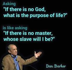 """Stop equating God with the Christian god. The point of the question is """"Why do we have a brief time of self awareness if we cease to exist at death? Without God as the answer (aka a purpose-giver, a grand plan master), there is no point and it's all nihilism. Many of us can't live that way."""