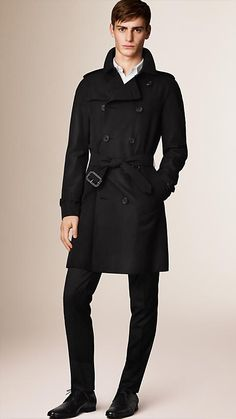 Burberry Black The Wiltshire - Long Heritage Trench Coat - A modern fit trench coat, The Wiltshire is tailored to the body. Discover the men's outerwear collection at Burberry.com