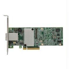 Intel Controller Card RS3SC008 SAS 8Port RAID Controller MD2 Low Profile Brown Box