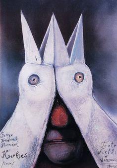 Stasys Eidrigevicius | A Polish Opera Poster