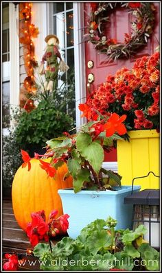 fall front porch, halloween decorations, outdoor living, porches, seasonal holiday decor
