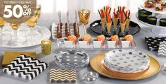 Gold Solid Color Tableware