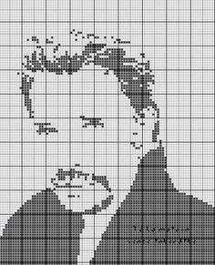 grille gratuite point de croix johnny hallyday Funny Cross Stitch Patterns, Cross Stitch Designs, Johnny Haliday, Hama Art, C2c Crochet, Batman And Superman, Artist Art, Caricature, Cross Stitch Embroidery