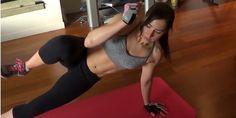 Seksowny sześciopak na brzuchu – ćwiczenia interwałowe (wymagający trening)