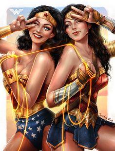 ArtStation - Wonder Woman 1975-2017, SpiderWee .