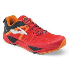 7ec53a3225121 Brooks Men s Cascadia 10 Trail Running Shoes - Sun   Ski Sports