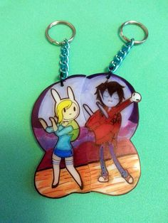 Adventure Time Fionna and Marshall lee 2 by JuliesNovelties