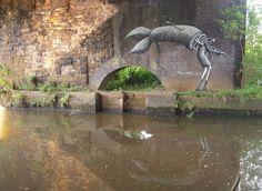Phlegm street art sheffield