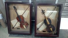 Fiddle display cases