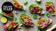 SMOKEY BBQ JACKFRUIT  WRAPS | @avantgardevegan by Gaz Oakley