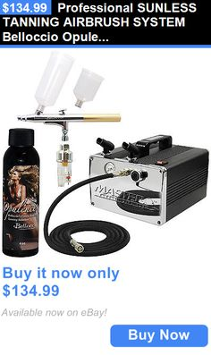 Other Sun Protection and Tanning: Professional Sunless Tanning Airbrush System Belloccio Opulence Dha Tan Solution BUY IT NOW ONLY: $134.99