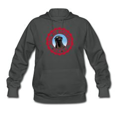 Seal of Approval Hoodie. Creative and  Original Design.
