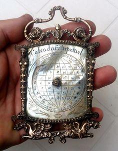 RARE CALENDRIER PERPETUEL BRONZE & NACRE  EP.CHARLES X GLOBE TERRESTRE 1830 | Art, antiquités, Objets du XIXe et avant | eBay!